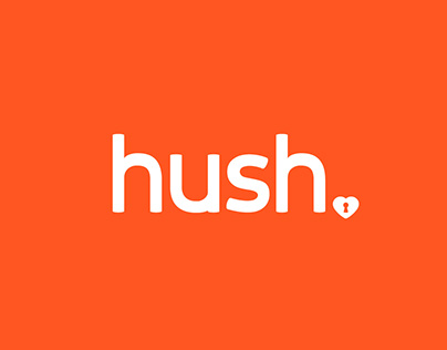 Hush Mobile App Design