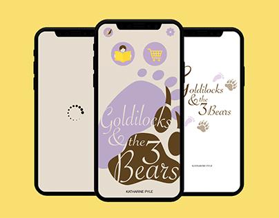 Goldilocks & the Three Bears mBook   Design Concept