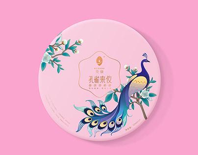 茶醋美容礼盒设计 Design of tea vinegar beauty gift box
