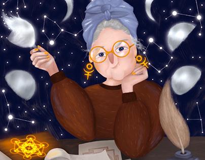 Astrology lady