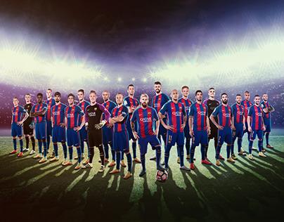 FCBarcelona - Póster