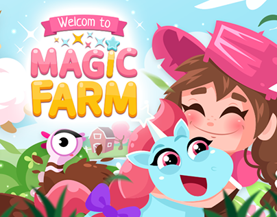 Игра ферма / Game design magic farm 2018