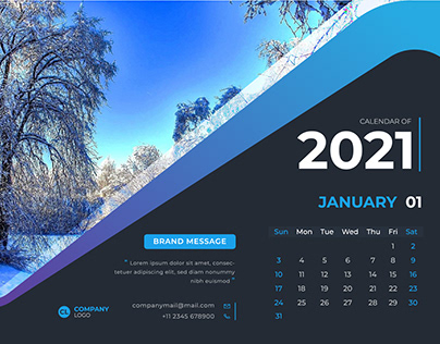 2021 HAPPY NEW YEAR CALENDER