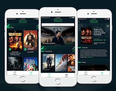 Concept Design Movie DB App