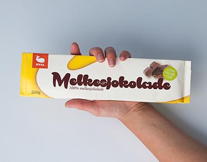 Hval Melkesjokolade