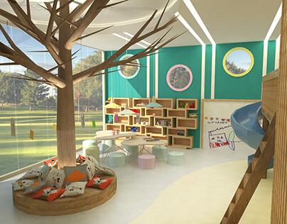 Brinquedoteca - Arquitetura de Interiores