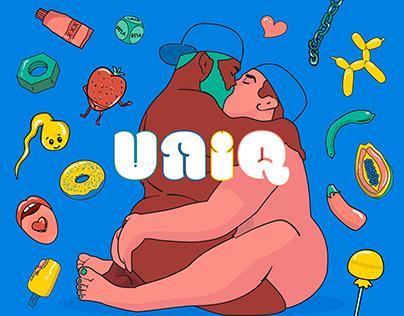 DISE-3703 I Uniq Condoms - Rebranding