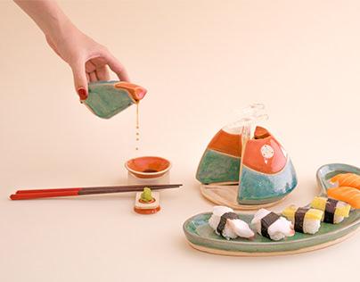KAGUYA - Ceramic Tableware Set