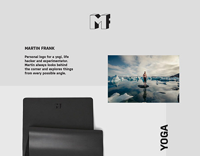 Personal logo for Martin Frank