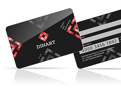 Dinart Logo & style design