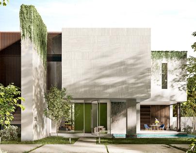 Architects: SAOTA. Visualization: Anna Doynikova