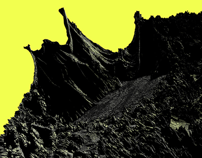 MOUNTAINS DISPLACEMENT | 3D Displacement mapping study