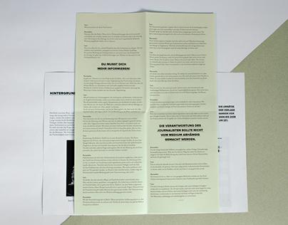 VORLAUT – a publication about subjects for discussion