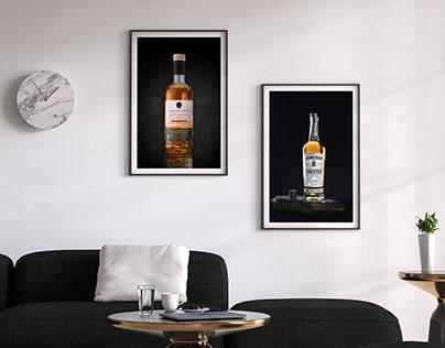 Irish Whiskey Photo Shoot