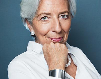 Chrstine Lagarde by Dusan Reljin (ELLE FR)