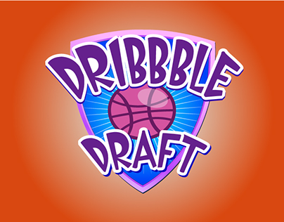 Dribbble Draft Shield - begging to get draftted.