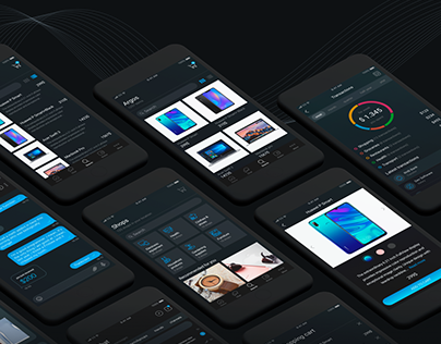 Marketplace&wallet app