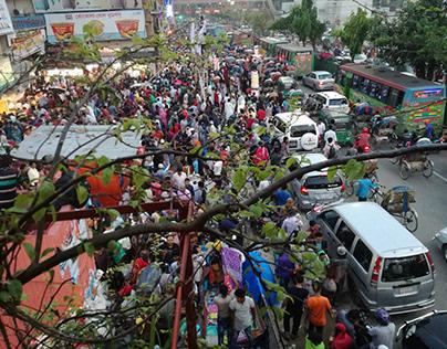 #DhakaCity # Bangladesh #Mobilephotography