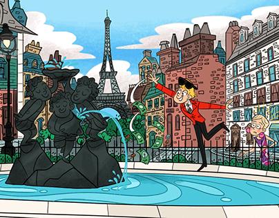 RICKY IN PARIS