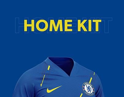 Chelsea Football kit 21/22.