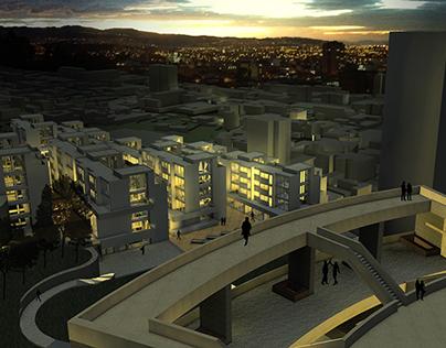A route to revitalize Bogotá's historical centre