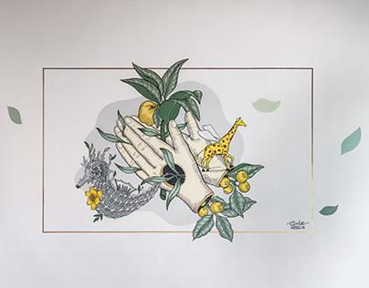 Mural: Gratitud