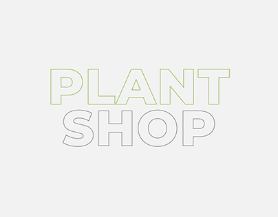 Landing page for plant stores