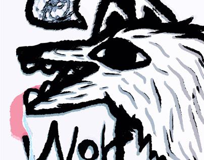 Cute Wolf—萌狼