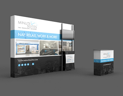 Minute Suites Tradeshow Display