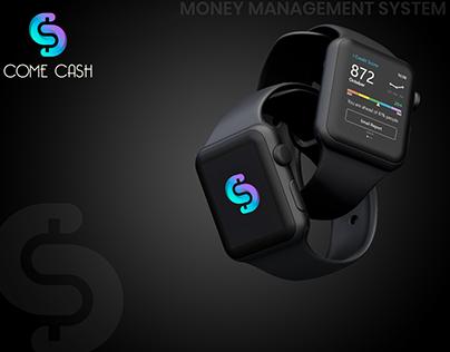 Come Cash - Apple IWatch Design