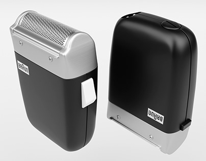 Braun Sixtant SM 31 Shaver 3D Model