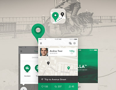 Transport App - iOS8 - iPhone