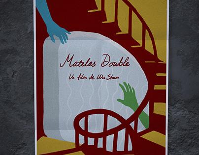 """Affiche pour le film """"Matelas double"""""""