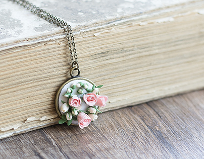 Romantic handcrafted jewelry