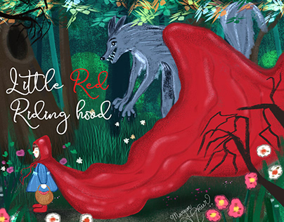 Guardian Wolf - Red riding hood