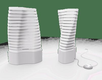 Vertebrae - A body-inspired lamp