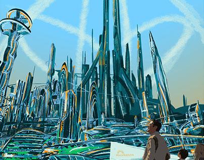 Tomorrowland: Travel Poster