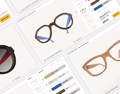 Online Configurator for Schwarz Glasses