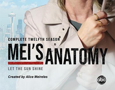 Releitura Capa Grey's Anatomy - Mei's Anatomy