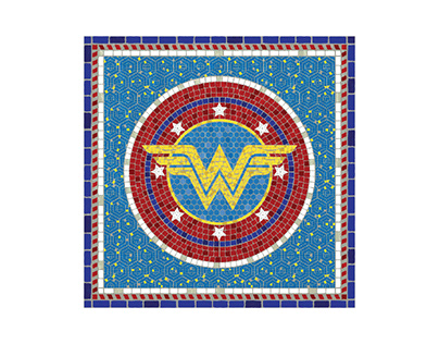 Superhero Mosaics