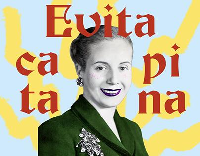 Visualist ☻ Evita Capitana - 100 años