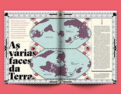 As várias faces da Terra (Superinteressante Magazine)