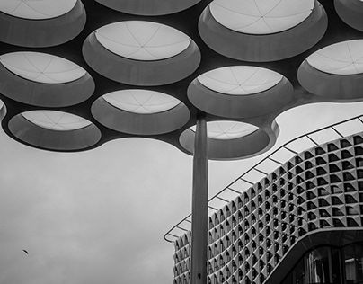 Architecture, Black & White, Buildings