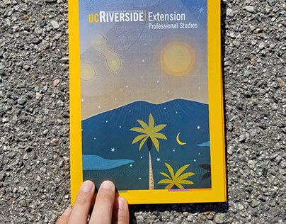 UC Riverside Extension Brochure Set