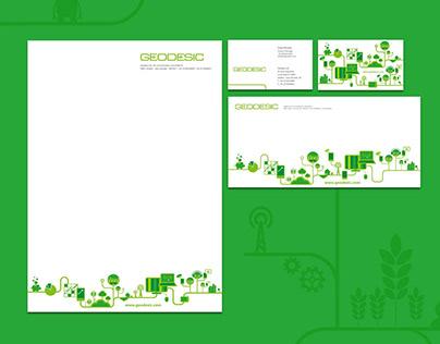 Geodesic Brand Identity Design