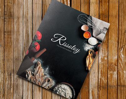 Rissotoy – Restaurant Menu Template