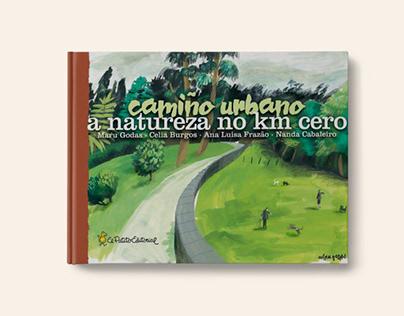 Camiño urbano Compostela ilustrada