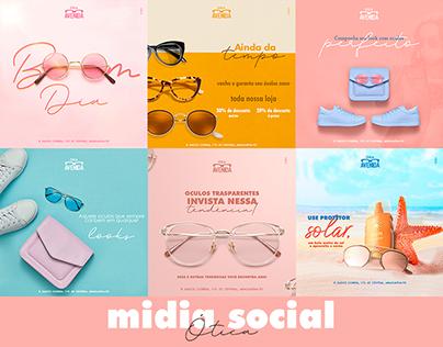 Social Media Óculos