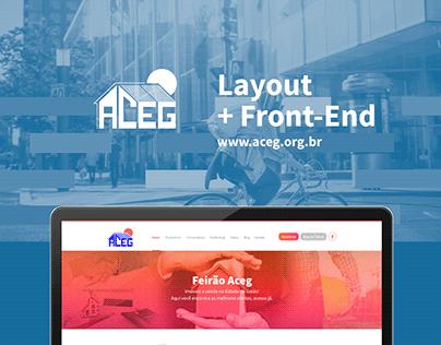 Aceg | Layout & Front-End