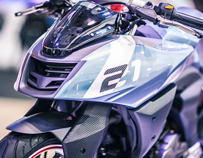TVS X21 Concept Racer [Delhi Motor Show 2016]